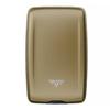 Кошелек c защитой Tru Virtu Oyster 2, светло-бежевый, 110x69x28 мм