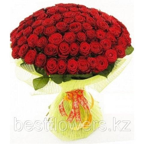Букет из 75 роз (70 см)