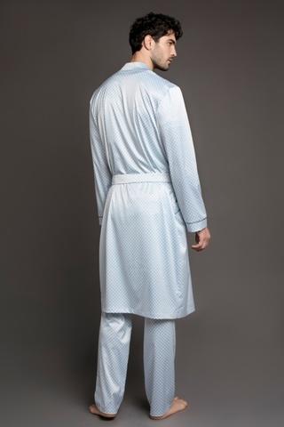 Мужской шелковый халат 60303 Laete