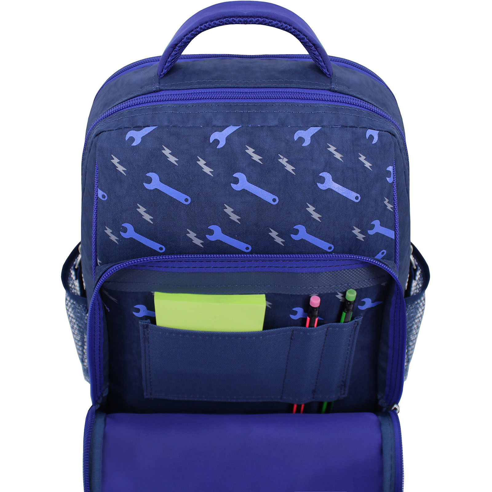 Рюкзак школьный Bagland Школьник 8 л. 225 синий 534 (00112702) фото 4