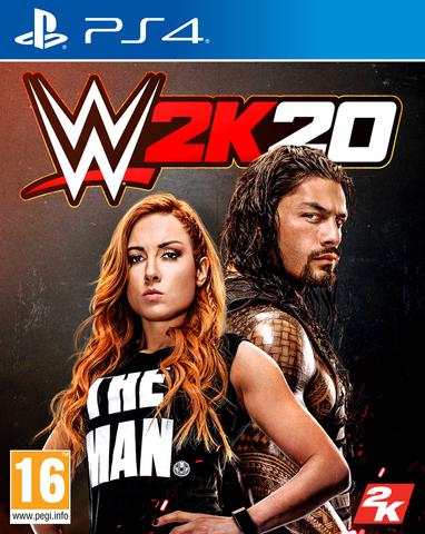 W2K20 (PS4, английская версия)