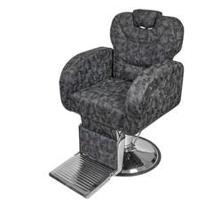 Барбер кресло Тайлер Холд гидравлика хром, круг хром, подножка хром