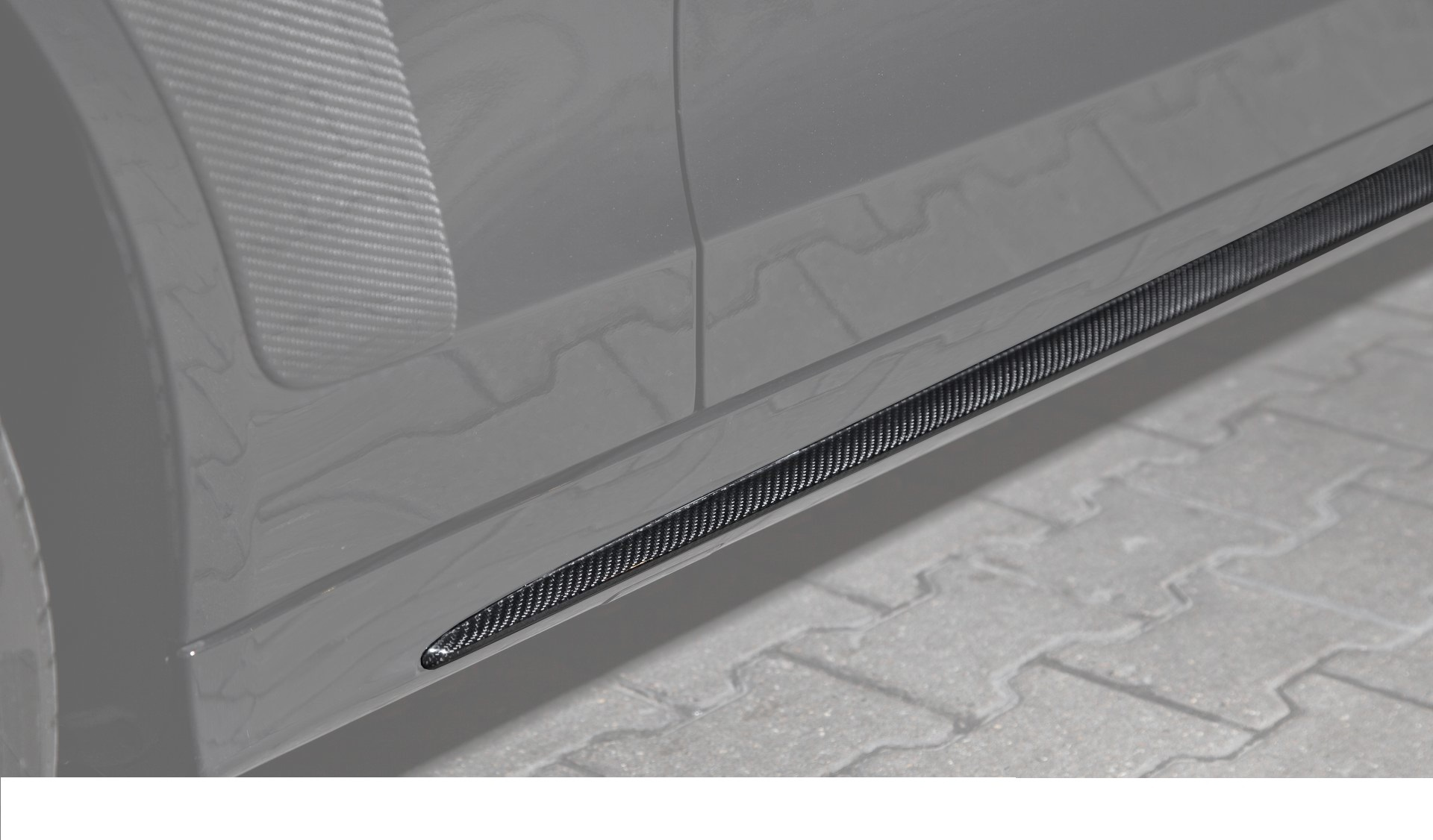 Карбоновые Накладки на пороги AMG Style для Mercedes С-class W205
