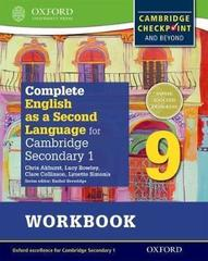 Complete English as a Second Language for Cambridge Secondary 1 Student Workbook 9