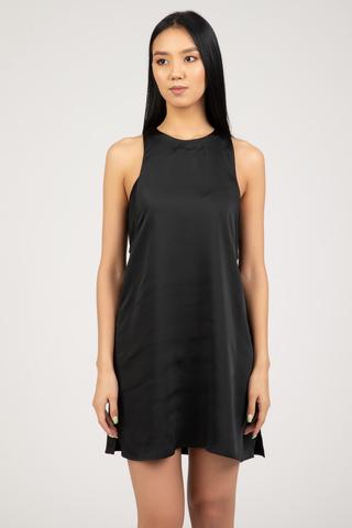 Женское платье Calvin Klein SATIN SLIP 2IN1 MIDI DRESS