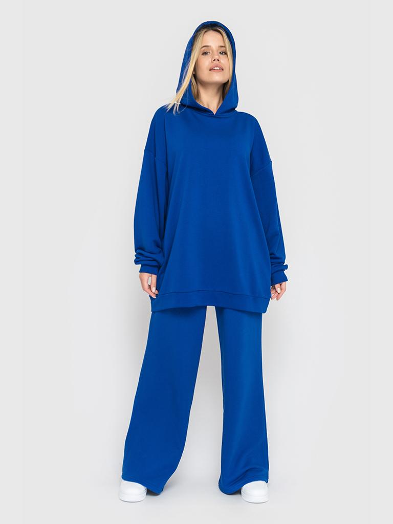 Костюм (брюки и худи) синий YOS от украинского бренда Your Own Style