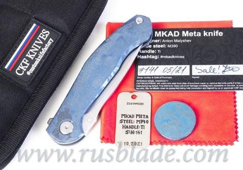 CKF MKAD Meta custom one-off blue accent