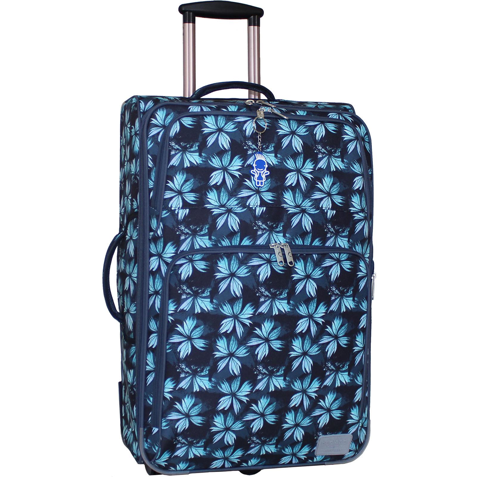 Дорожные чемоданы Чемодан Bagland Леон большой дизайн 70 л. сублимация (листья) (0037666274) IMG_6924.JPG