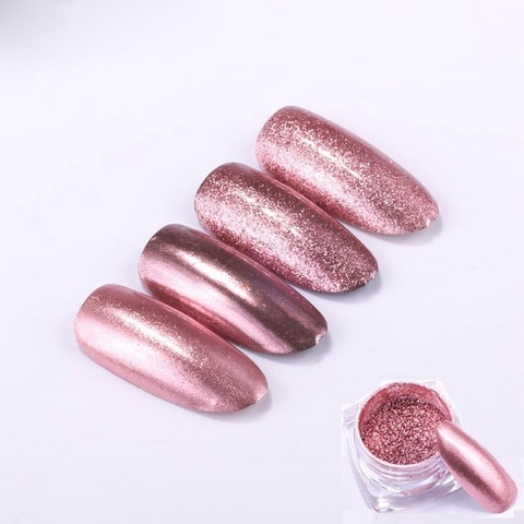 Втирка Металлическая розовая 0,5 гр
