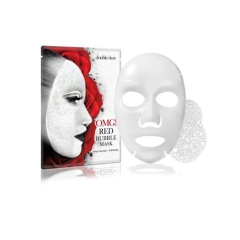 Double Dare баббл-маска очищающая с экстрактами 8 красных растений 1шт