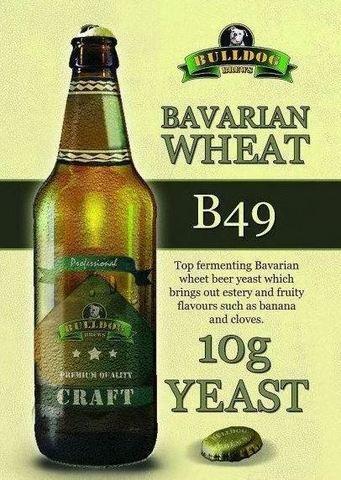 Пивные дрожжи Bulldog B49 Bavarian Wheat