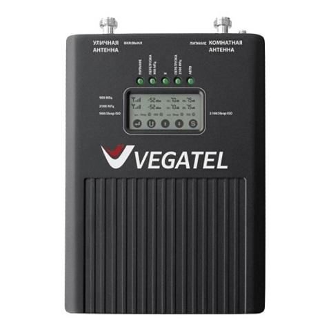 Репитер 900/2100 (2G/3G) VEGATEL VT3-900E/3G (LED)