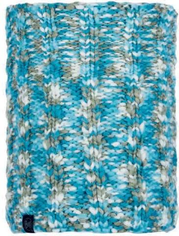 Шарф-труба вязаный с флисом Buff Neckwarmer Knitted Polar Livy Aqua фото 1