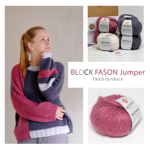 BLOCK FASON Jumper Fashionbox