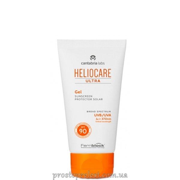 Cantabria Labs Heliocare Ultra Gel SPF 90 - Солнцезащитный гель для комбинированной и жирной кожи SPF 90+