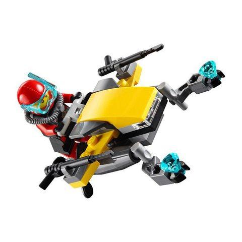 LEGO City: Глубоководный скутер 60090 — Deep Sea Scuba Scooter — Лего Сити Город