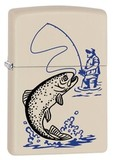 ZIPPO 216 Fishing Cream Matte 29227
