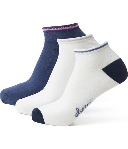 Lds Turiff 3-Pairs Socks