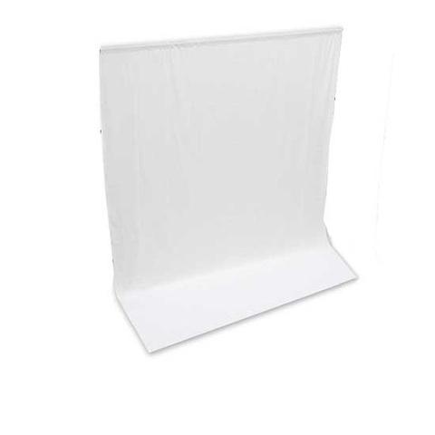 Белый тканевый фон 3х6 м NiceFoto MB-36