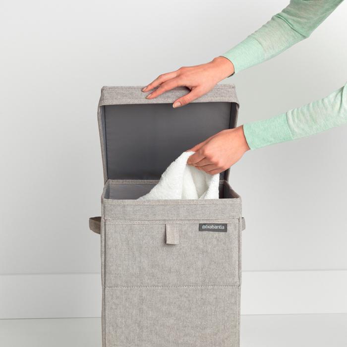 Модульный ящик для белья (35 л), Серый, арт. 120428 - фото 1