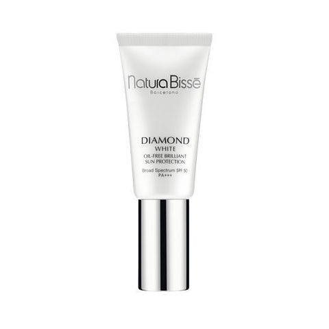 Natura Bisse Солнцезащитный крем-флюид с осветляющим эффектом Diamond White SPF 50 Oil Free Brilliant Sun Protection