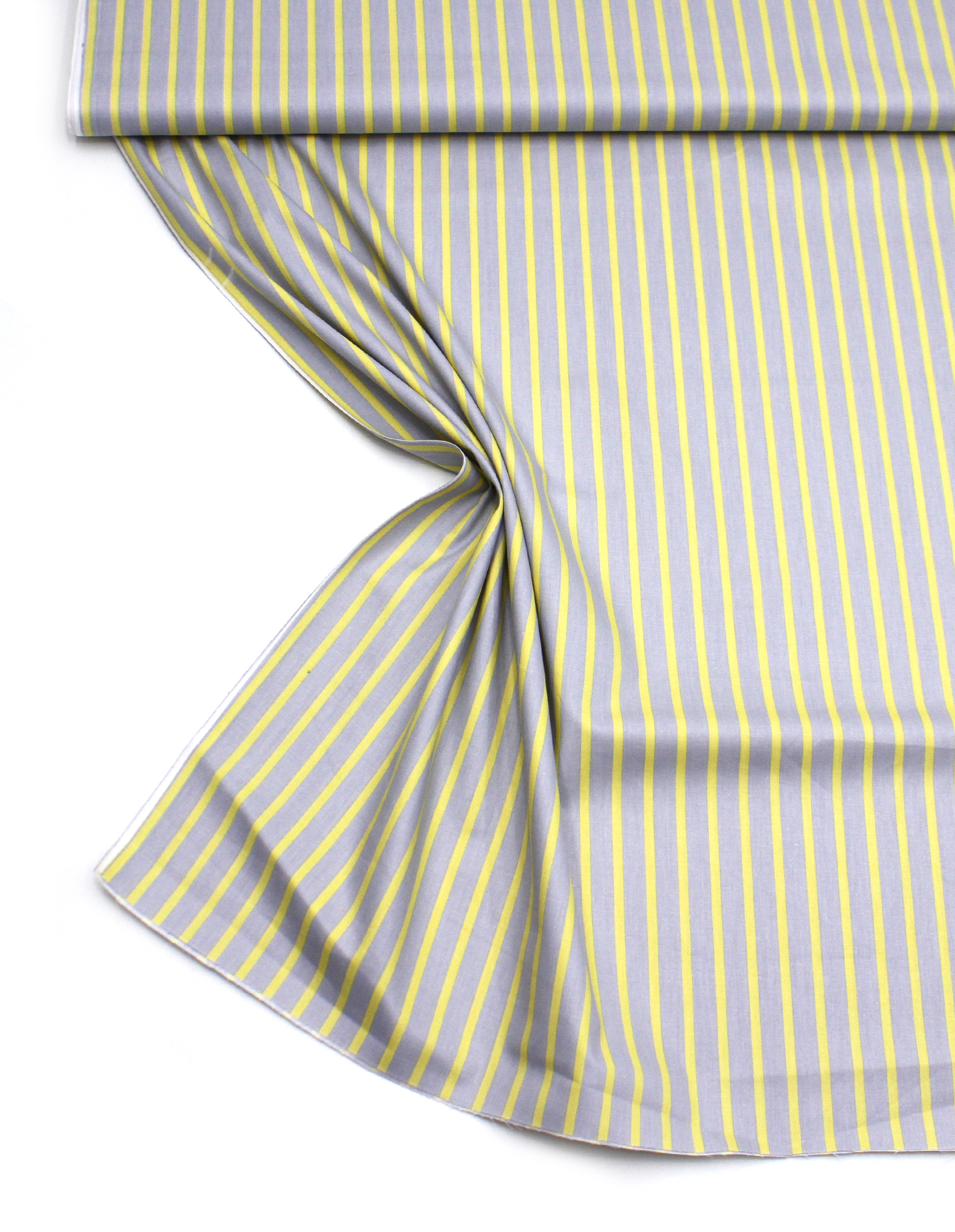 Полоски желтые на сером,6 мм