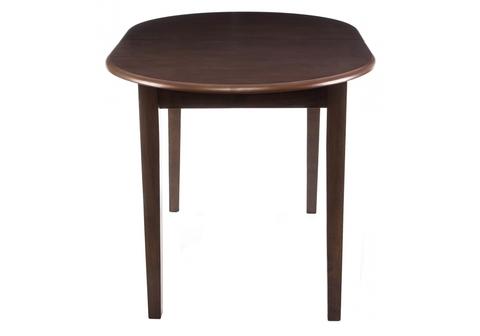 Стол деревянный кухонный, обеденный, для гостиной раскладной Lugano cappuccino 120 - 150*120 - 150*76 Cappuccino