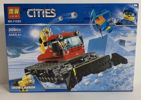 Сити  11222 Снегоуборочная машина ,209д Конструктор