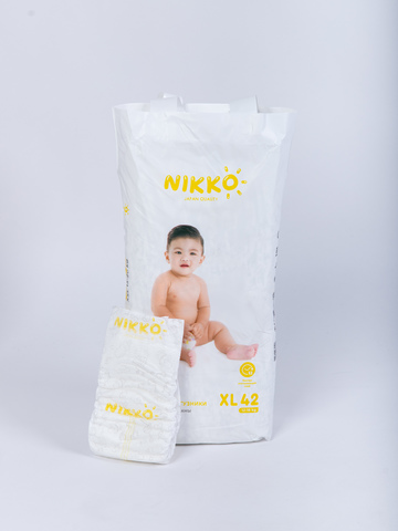Nikko подгузники XL 42 шт 12-18 кг