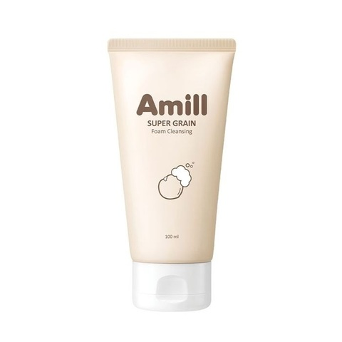 Amill Super Grain Foam Cleansing пенка для умывания с зерновыми экстрактами