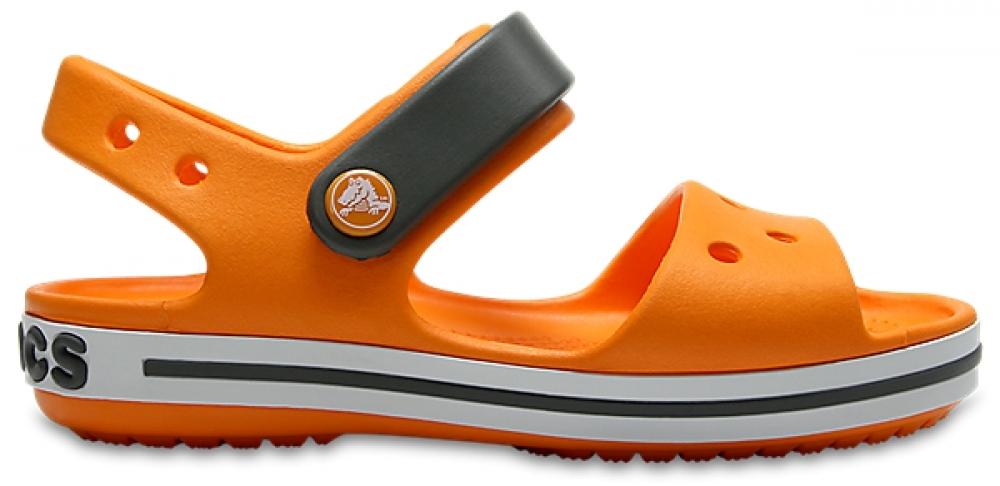 Обувь детская CROCS Crocband™ Сэндл Кидс Блэйзинг Оранж/Слэйт Грэй