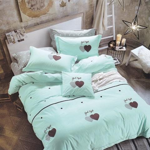 Подростковое постельное белье хлопок 1,5 сп.  LOVE ME