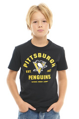 Футболка NHL Pittsburgh Penguins (подростковая)