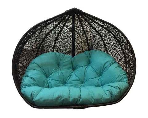 Корзина для двухместного плетеного кресла из ротанга Сомбрерро