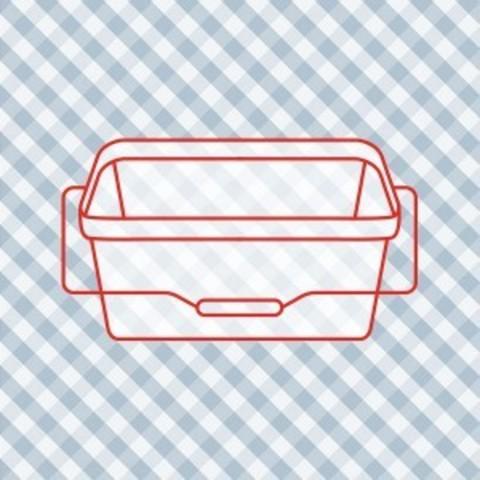 Контейнер пищевой пластик 3 л
