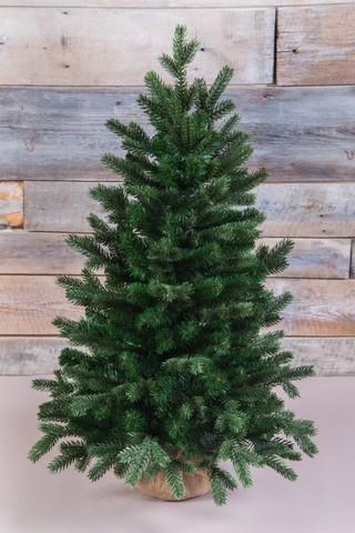 Искусственная елка Шервуд премиум 90 см в мешочке зеленая