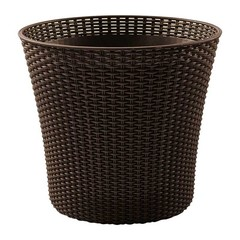 Кашпо садовое плетеное Keter Conic Planter 57L