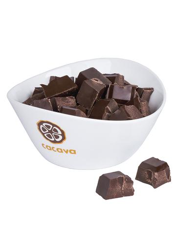 Тёмный шоколад, 70% какао (Доминикана), внешний вид