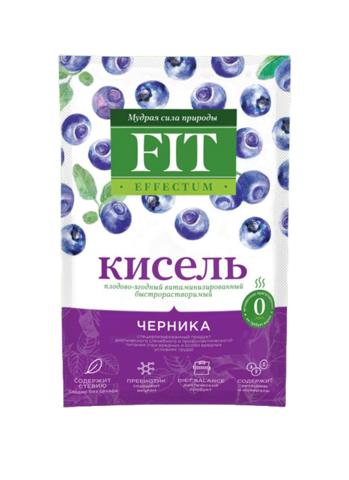 Кисель витаминизированный Черника Effectum ФитПарад 30г
