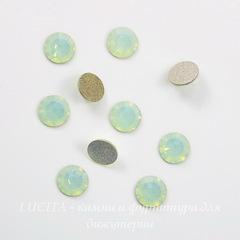 2058 Стразы Сваровски холодной фиксации Chrysolite Opal ss12 (3,0-3,2 мм), 10 штук