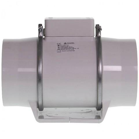 Вентилятор осевой канальный Dospel TURBO 125, две скорости, dØ125