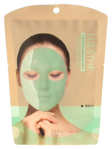СМ Маска для лица альгинатная Luesthe Modeling Pot [Aloe] 25гр