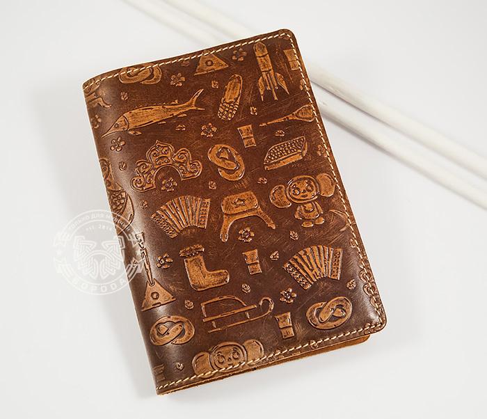 BY14-14-01 Прикольная обложка на паспорт «Русские Традиции»
