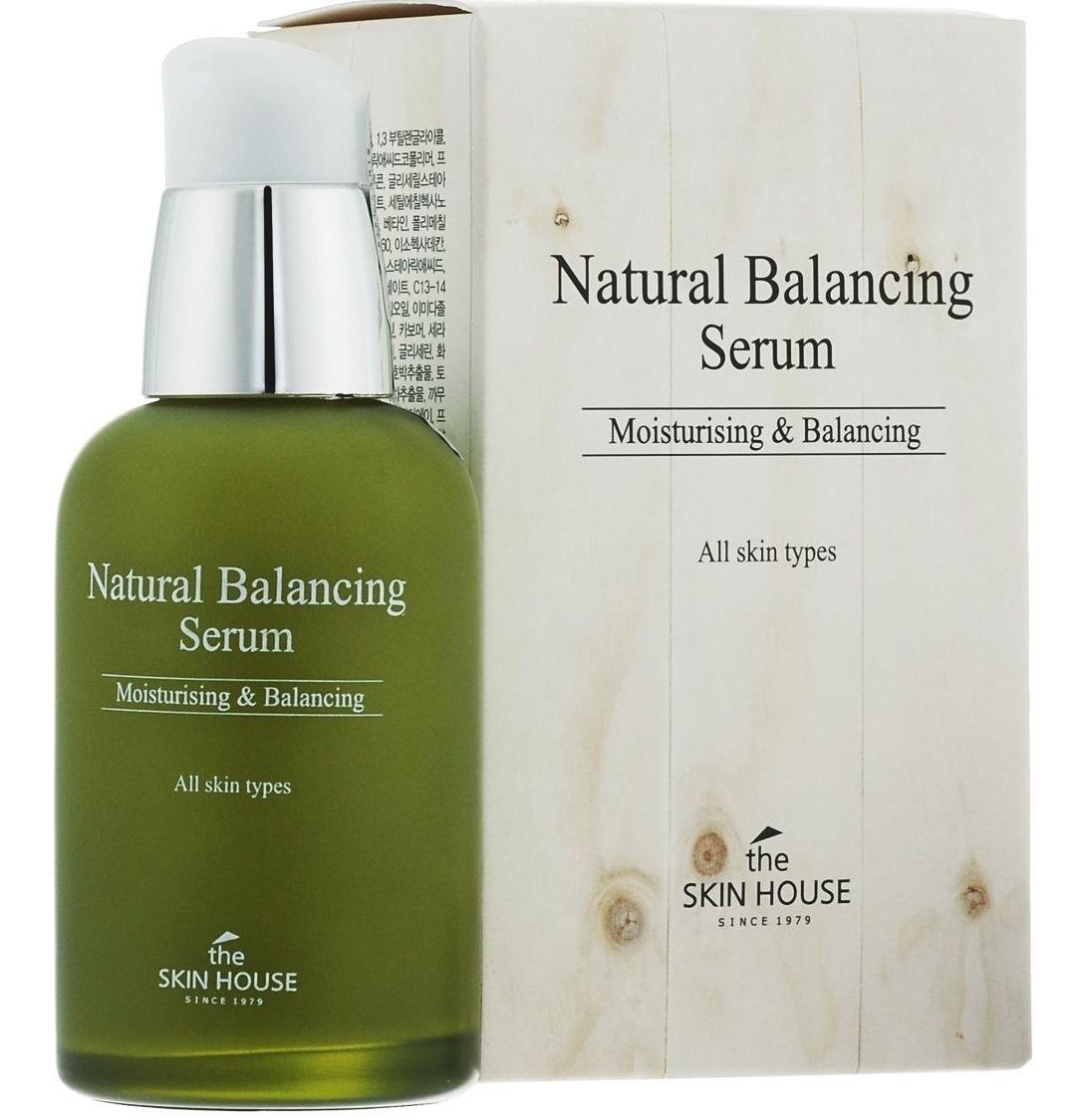 Матирующая балансирующая сыворотка The Skin House Natural Balancing купить в интернет магазине корейской косметики topkorea.ru