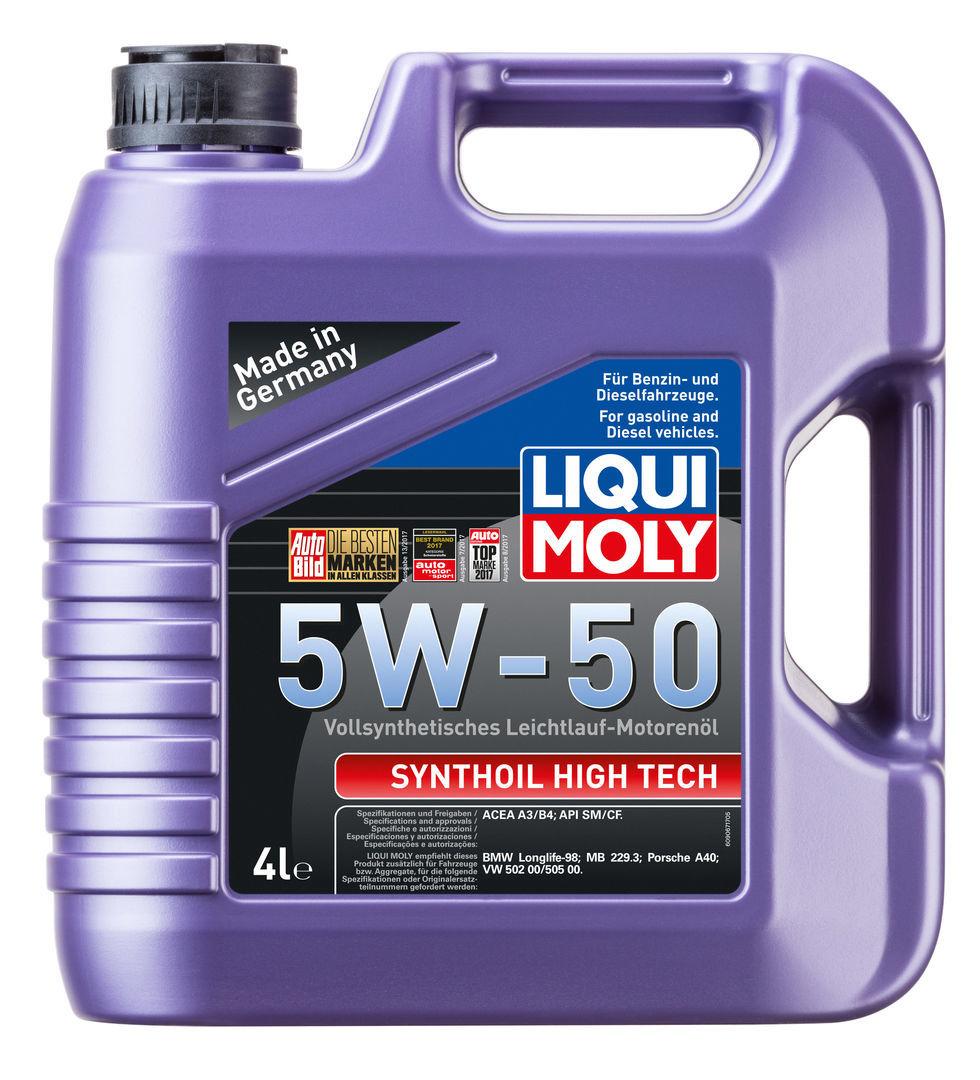 Liqui Moly Synthoil High Tech 5W50 Синтетическое моторное масло