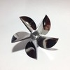 6516/5 New Series 5D Stainless Steel propeller L+R