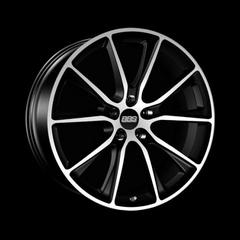 Диск колесный BBS SV 10x20 5x120 ET35 CB82.0 satin black/diamond cut