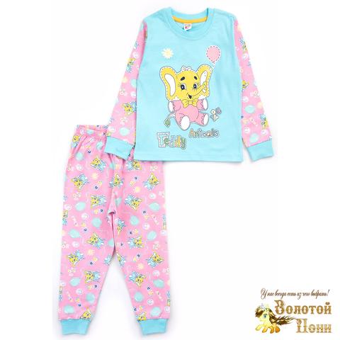 Пижама хлопок девочке (2-5) 210127-MD567