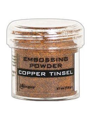 Пудра для эмбоссинга Ranger Ink- COPPER TINSEL