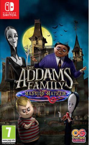 Семейка Аддамс: Переполох в особняке (Nintendo Switch, русская версия)
